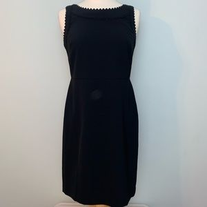 Stunning Ann Taylor unique Scalloped LBD